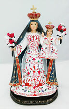 "12"" Inch Our Lady of Candelaria Santa St Religious Statue Figurine Figure"