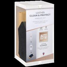 Autoglym Car Care Cuero Limpia Y Proteger Kit Completo Geniune producto