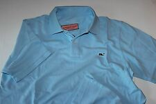 Vineyard Vines Whale Pique Polo Shirt Classic Fit New Jake Blue Medium M
