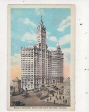 Wrigley Building Chicago USA 1925 Postcard 935a