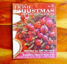 American Homes Christmas Magazine 1966 Kitsch Holiday Pies Festive Food Crafts