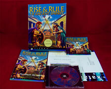 PC DOS: The Rise & Rule of Ancient Empires - Sierra 1996 mit OVP