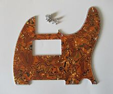 Tele Style Humbucker Pickguard Scratch Plate Tiger Stripe Fits Telecaster 3 Ply