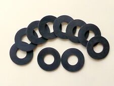 M16 x 35 x 2mm Thick Rubber Washers Qty 10