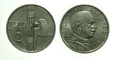 pc2534) Vittorio Emanuele III  (1901-1943) Buono da 2 Lire 1923