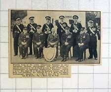 1957 Penzance St John Ambulance Division Winning Team, Wood, Ford, Reid, Scarbor
