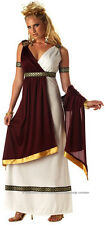 Roman Empress Greek Goddess Dress Up Women Costume M
