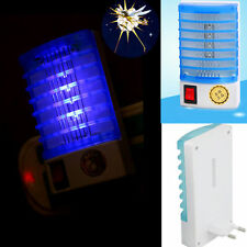 HOT! LED Socket Electric HA Mosquito Fly Bug Insect OU Night Lamp Killer Zapper