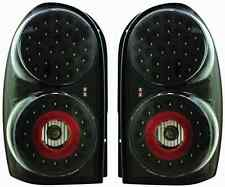 Custom Pair of LED Tail Lights For 2002-2007 Jeep Liberty (Bermuda Black)