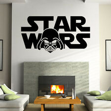 Removable Star Wars Wall Stickers living Room Bedroom Mural Decal Home Decor Art