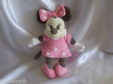 Doudou souris Minnie, rose, Disney, Nicotoy