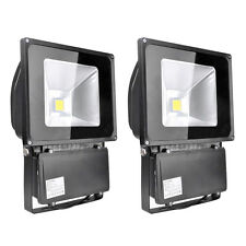 2X 100W Warm White LED Landscape Garden Outdoor Flood Light Lamp IP65