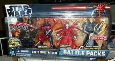 Hasbro Star Wars Battle Packs Darth Maul Returns Target Exclusive