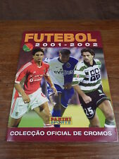 ALBUM PANINI FOOTBALL FUTEBOL 2001-2002 PORTUGAL Full Complet MINT TTBE