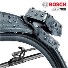 """18"""" / 18"""" Bosch Aero Twin Windscreen Wiper Blades Front Pair Flat QF6"""