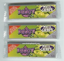 3pks 'WHITE GRAPE' Flavored JUICY JAY'S 1 1/4 SUPERFINE Rolling Papers