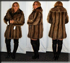 New Raccoon Fur Jacket Size Medium 6 8 M Efurs4less