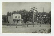 Svea MINNESOTA RP 1909 TELEPHONE COMPANY Office nr Willmar Raymond TINY TOWN!