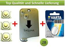 RENAULT Laguna 2 scheda chiave 2 tasti Button Key Card CLE llave chiave case