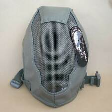 NEW TMC Sport Airsoft Paintball CS Extreme Metal Mesh Full Face Protection Mask