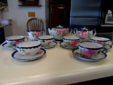 Vintage Hand Painted Tea Set for Six - Nippon - TE-OH China