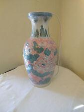 Unusual Glass Lamp Vase