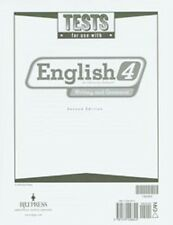 BJU Press - English 4 Student Tests(updated 2nd ed) 192005