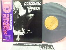 JAPAN LP SCORPIONS IN TRANCE RVP-6050 RVC OBI INSERT