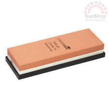 Genuine! MASTERCLASS 2 Sided Dual Whetstone Sharpening Stone Knife Sharpener!