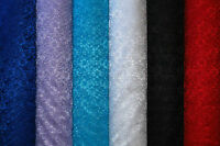 Flower Floral Budget Lace Per Metre Fabric Material Red Black White Blue Lilac