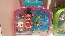 Disney Animators' Collection Moana Mini Doll Play Set NEW in Case With Tags