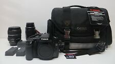 Canon EOS 30D 8.2 MP Digital SLR Camera EF-S 18-55mm IS lens with extra filters