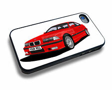 BMW M3 (E36) iPHONE 4/4s & iPHONE 5/5s/5c/6/6s/7 PERSONALISED CLIP ON COVER