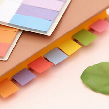 Hot Rainbow Sticker Bookmark Marker Flags Index Tab Sticky Notes