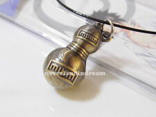 Anime Naruto Sabaku no Gaara gourd shape alloy metal necklace/pendant copper!