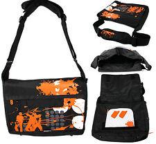 """17.3"""" Laptop Case for HP Envy 14 & Envy 17 - Shoulder Bag in Black & Orange"""