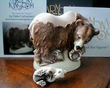 Harmony Kingdom Bare Bear Blue Box UK Made Marble Resin Box Figurine NEW Release