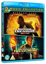 NATIONAL TREASURE 1 & 2 [Blu-ray Set] Double Pack Book of Secrets Collection