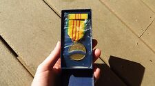 US Military Issue Vietnam Service Medal Set 1966 Dated w/ Box