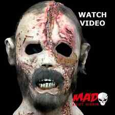 Official Walking Dead BEARD WALKER Zombie Latex Mask-Halloween/Horror Film SCARY