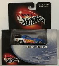 100% Hot Wheels 2002 Cool Collectibles  Pontiac Funny Car Mooneyes Real Riders