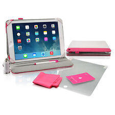 iCoustic IC207 Pink 5 in 1 Accessory Kit For iPad Air - Protect and Charge