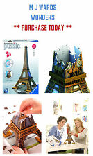 RAVENSBURGER EIFFEL TOWER 216 PIECE 3D JIGSAW PUZZLE ** GREAT PRICE/GIFT **