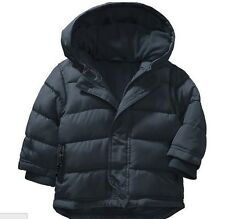 New Old Navy Baby Toddler Boy Frost Free Hooded Jacket Coat Navy Blue 2T