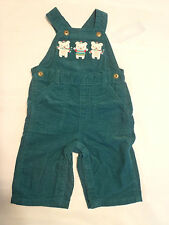 Gymboree Snow Bears Baby Boys 3-6 Month Corduroy Cotton Overall NWT
