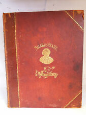 SHAKESPEARE; THE LIBRARY VOLUME II - TRAGEDIES - ILLUSTRATED c1900s (UNDATED)