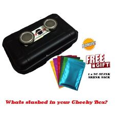 Magnetic Car Safe Secret Storage Stash Box Hidden Waterproof Cheeky Ninjas Small