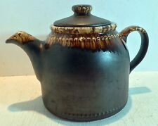 Retro Titian Ware Crown Lynn Country Fair Teapot, New Zealand Pottery (1975)