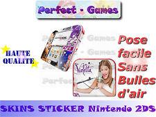 Skin sticker auto-collant vinyl Violetta n°5 pour console nintendo 2DS
