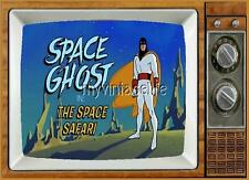 "SPACE GHOST TV Fridge MAGNET  2"" x 3"" art SATURDAY MORNING CARTOONS"